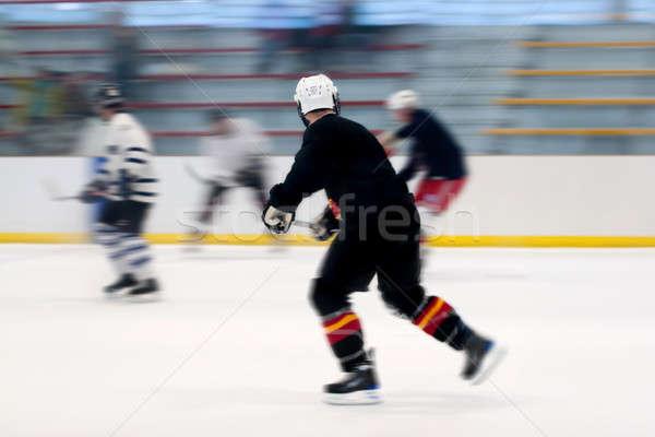 Hockey Players On the Ice Stock photo © ArenaCreative