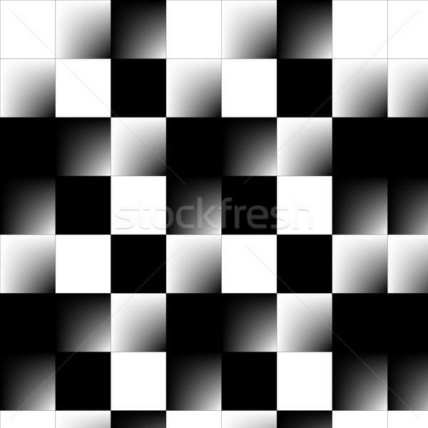 Abstract 3d Checkerboard Stock photo © ArenaCreative