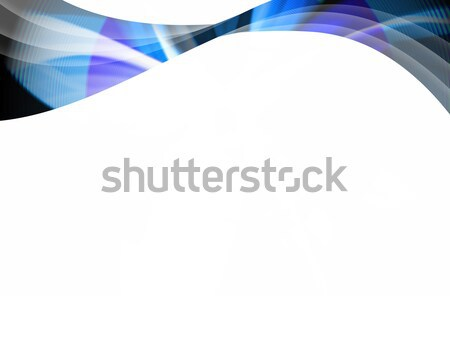 Absztrakt kék örvény hullámos elrendezés nagyszerű Stock fotó © ArenaCreative
