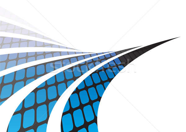 Abstract Swooshes Stock photo © ArenaCreative