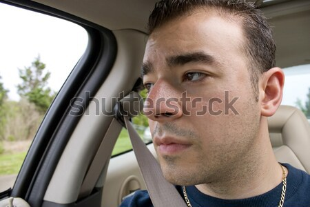 Man Expressing Road Rage Stock photo © ArenaCreative