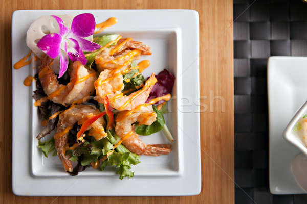 Thai Shrimp Dish Stock photo © arenacreative