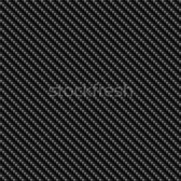 Karbon fiber siyah malzeme muhteşem model doku Stok fotoğraf © ArenaCreative