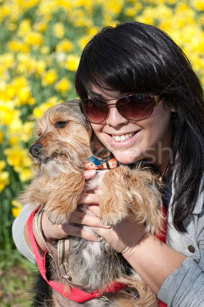 Smiling Pet Owner Stock photo © ArenaCreative
