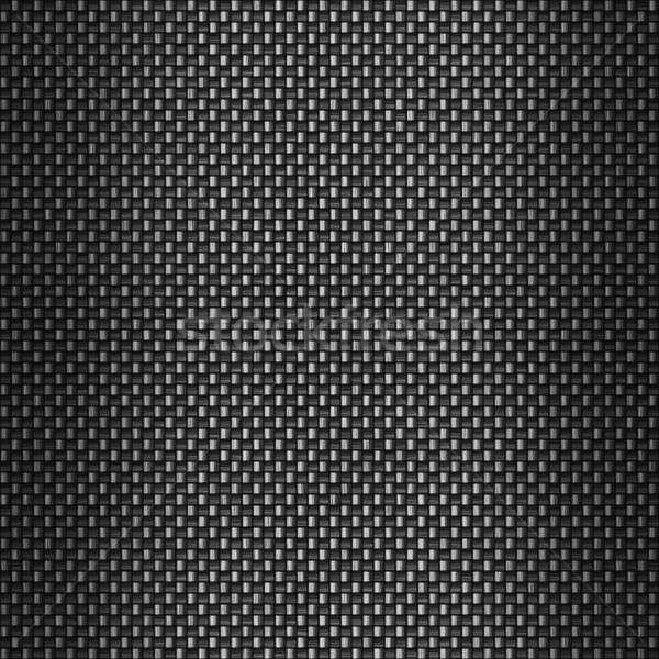 Detallado fibra de carbono carbono tela industria tejido Foto stock © ArenaCreative