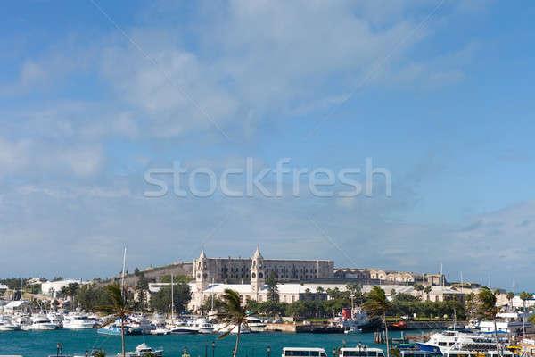 Stock photo: Bermuda Harbor Skyline