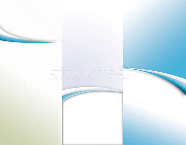Tri-Fold Brochure Template Stock photo © ArenaCreative