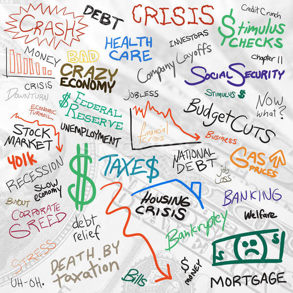 Economy Doodles Stock photo © ArenaCreative