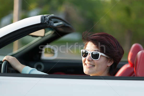 Driving with the Top Down Stock photo © arenacreative