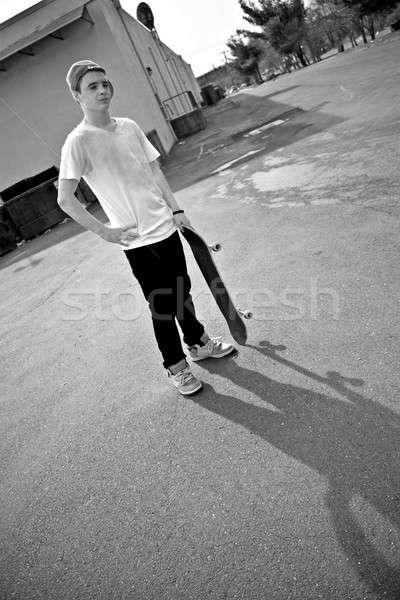 Skateboarder Stock photo © ArenaCreative