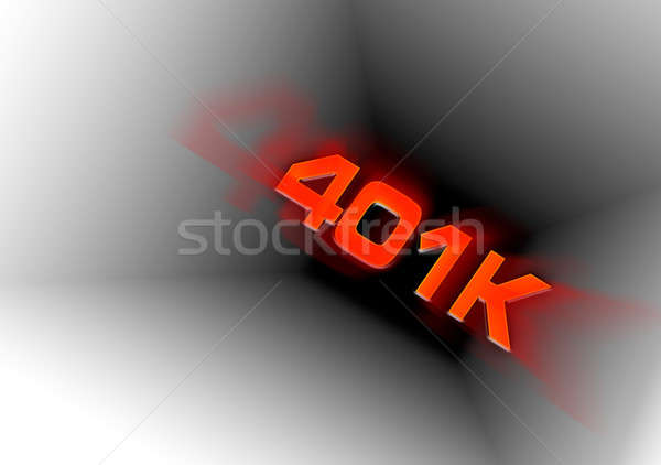 401k Down the Tubes Stock photo © ArenaCreative