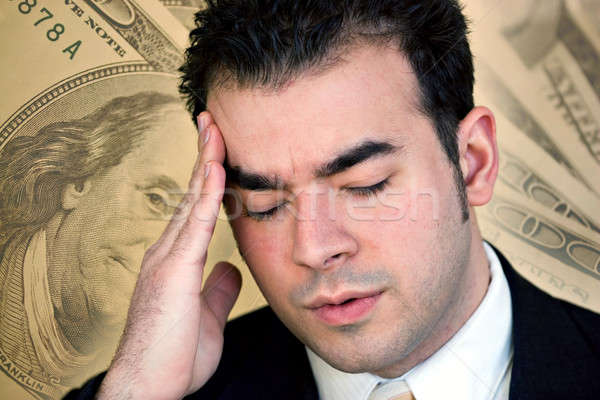 Stock photo: Financial Problems
