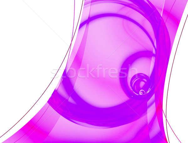 Stock fotó: Rózsaszín · absztrakt · elrendezés · 3D · konzerv · sablon