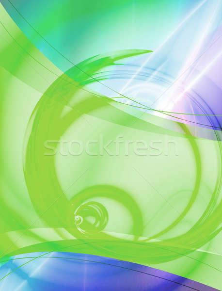 Stock fotó: Absztrakt · elrendezés · 3D · konzerv · sablon · terv