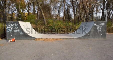 Skate Park Ramps Stock photo © ArenaCreative