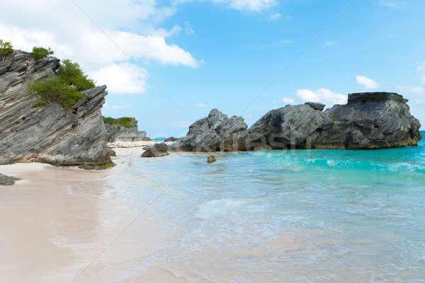 Horseshoe Bay Beach in Bermuda Stock photo © arenacreative