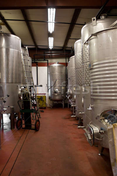 Wine Storage Tanks Stock photo © ArenaCreative