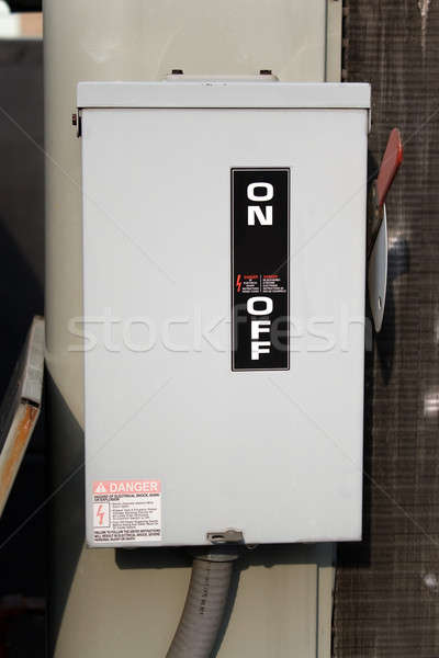 On Off Electrical Switch  Stock photo © ArenaCreative