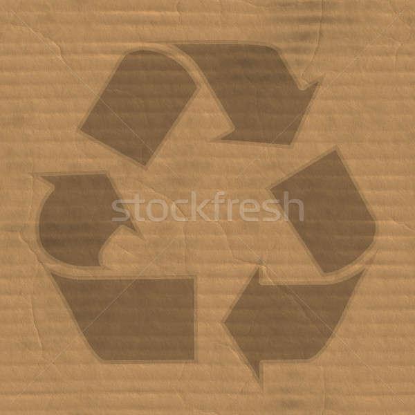 Cardboard Stock photo © ArenaCreative