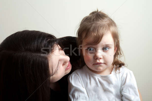 Daughter Getting Talked To Stock photo © ArenaCreative
