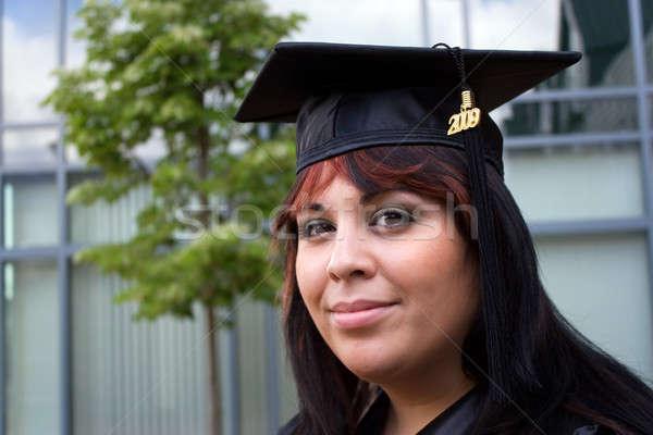 Young Woman Graduating Stock photo © ArenaCreative