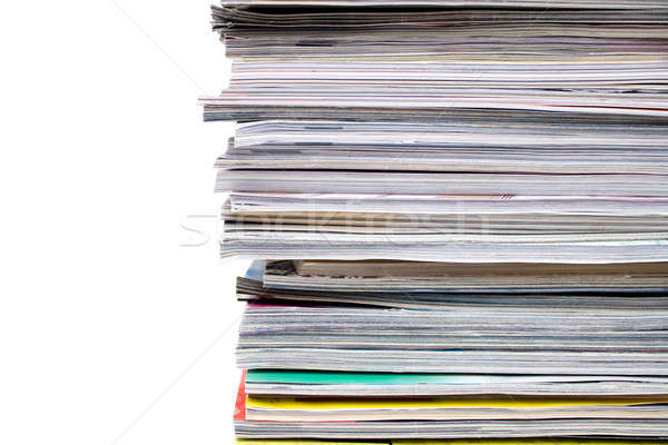 Magazines Stack Stock photo © ArenaCreative
