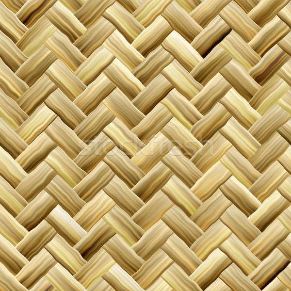 Yellow Basket Weave Stock photo © ArenaCreative