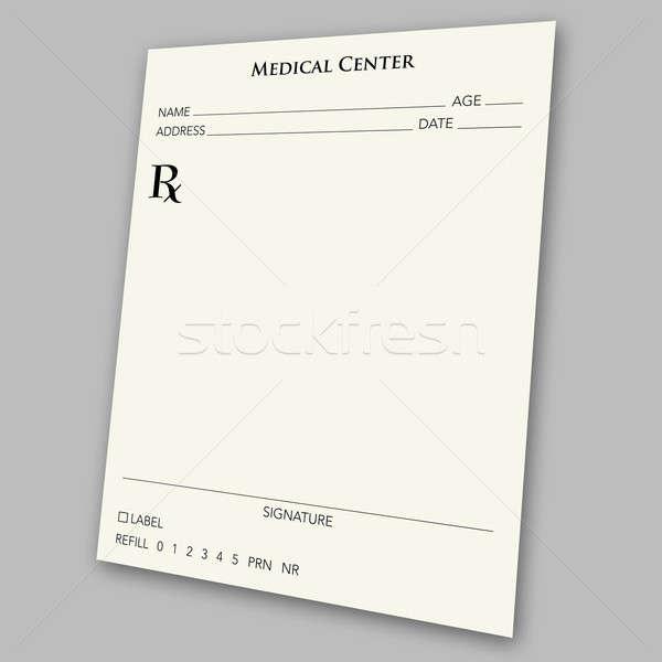 prescription pad Stock photo © ArenaCreative