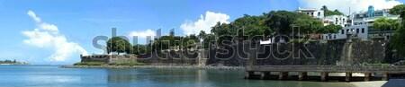 Old San Juan City Coast Stock photo © arenacreative