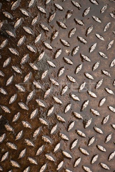 Rusty Diamond Plate Stock photo © ArenaCreative