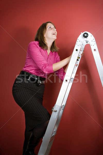 Climbing the Ladder Stock photo © ArenaCreative