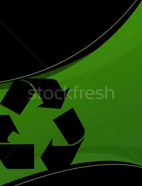 Recycling Layout Stock photo © ArenaCreative