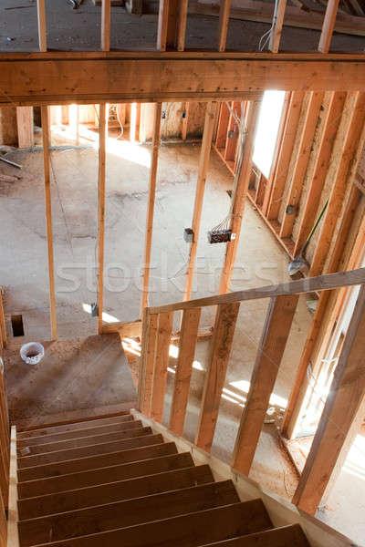 House Framing Interior Stock photo © ArenaCreative