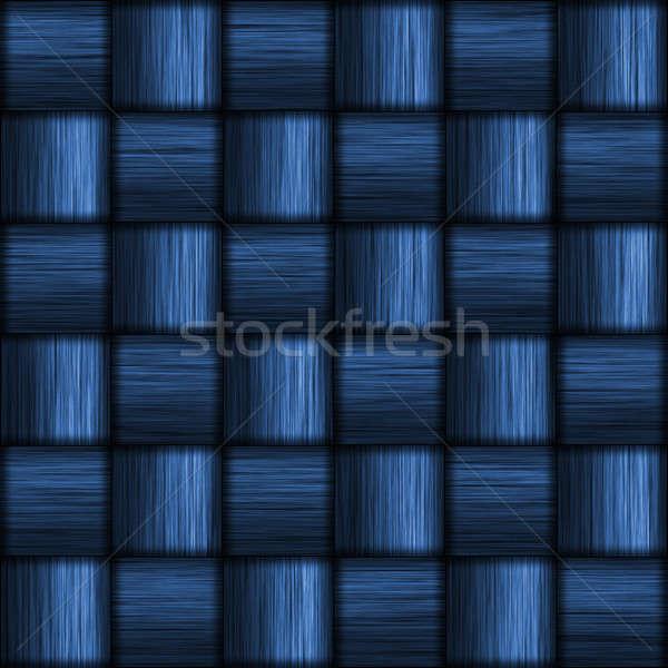 Blue Carbon Fiber Stock photo © ArenaCreative