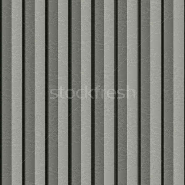 Ribbed Metal Texture Stock photo © ArenaCreative