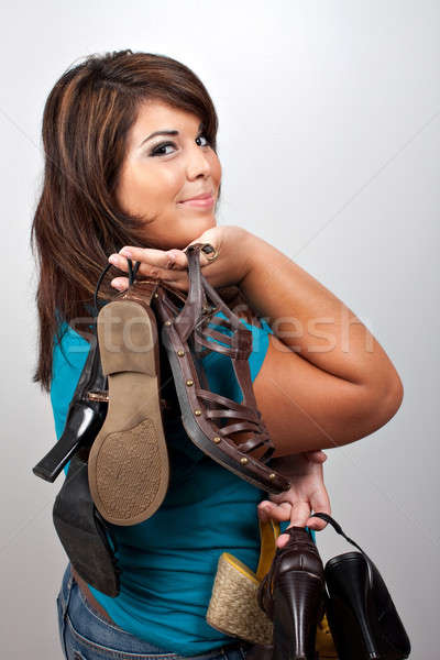 Addicted to Shoes Stock photo © ArenaCreative