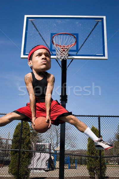 Big Head Basketball Player Stock photo © ArenaCreative
