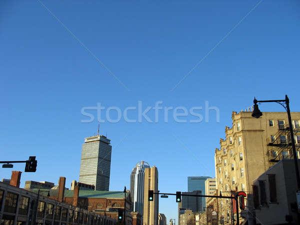 boston skyline Stock photo © ArenaCreative
