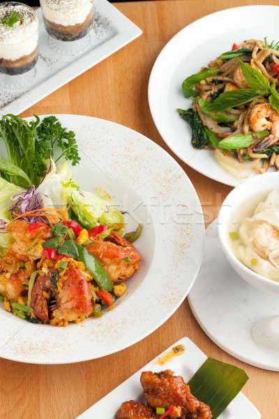 разнообразие тайская еда блюд тайский Сток-фото © arenacreative