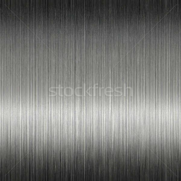 Shiny Brushed Stainless Steel Metal Stock photo © ArenaCreative