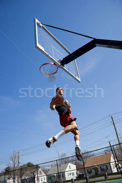 Basketball Player Hang Time Stock photo © ArenaCreative