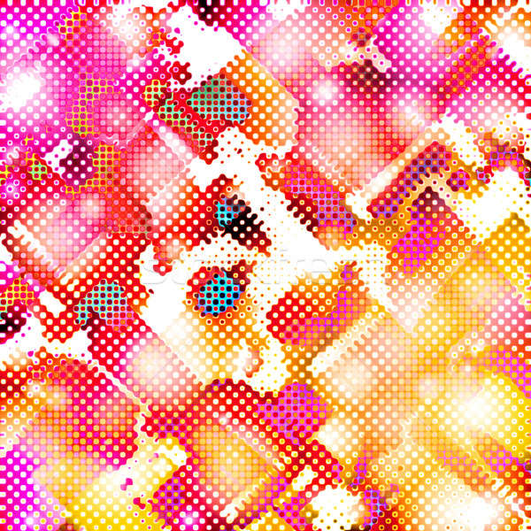 Funky Halftone Stock photo © ArenaCreative