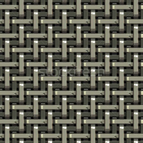Woven Metal Texture Stock photo © ArenaCreative