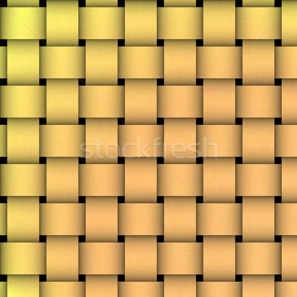 Golden Basket Weave Stock photo © ArenaCreative