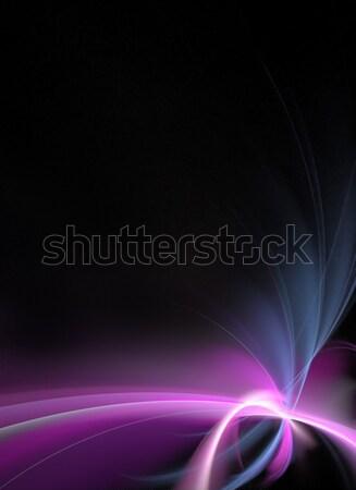 Сток-фото: аннотация · фрактальный · макет · 3D · можете · шаблон
