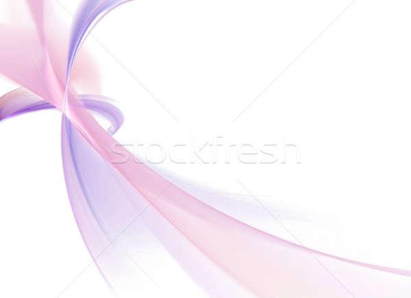 Absztrakt fraktál elrendezés 3D konzerv sablon Stock fotó © ArenaCreative