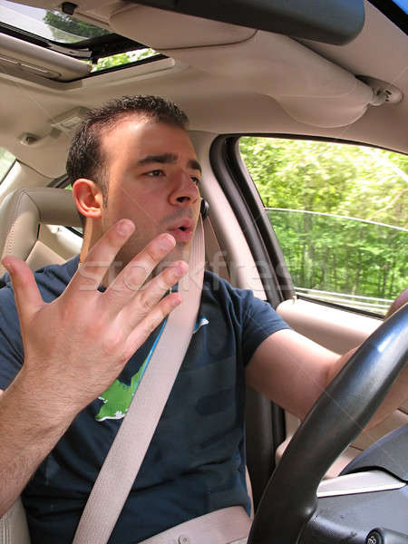 Road Rage Frustration Stock photo © ArenaCreative