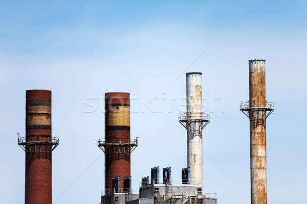 Smoke Stacks Stock photo © ArenaCreative