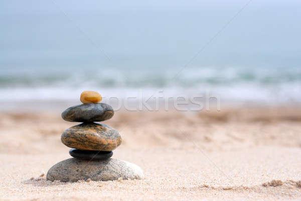 Сток-фото: пород · zen · песок · пляж