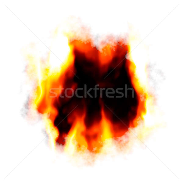 Fiery Hole Layout Stock photo © ArenaCreative